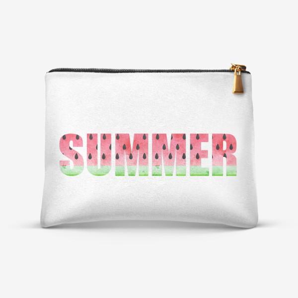 Косметичка «Summer Watermelon (Арбузное Лето)»