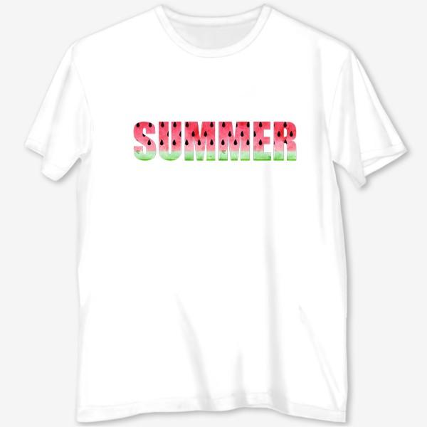 Футболка с полной запечаткой «Summer Watermelon (Арбузное Лето)»