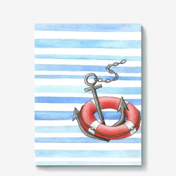 Холст «Морская тема»