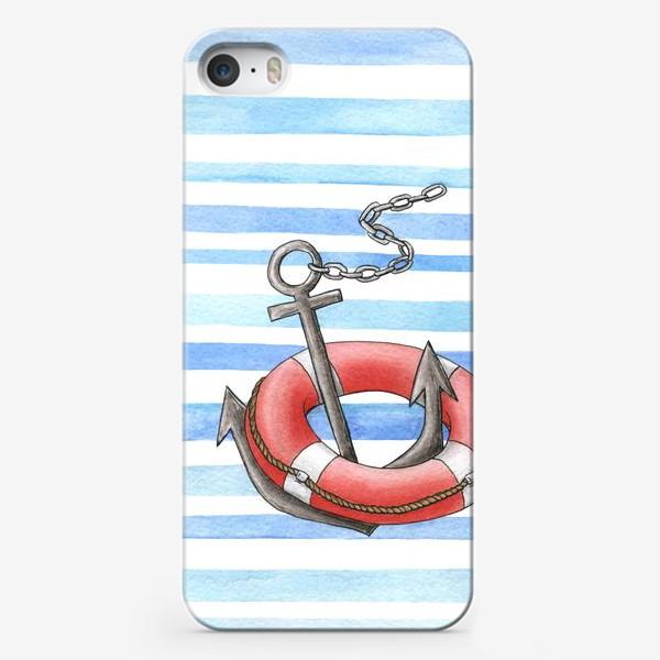 Чехол iPhone «Морская тема»