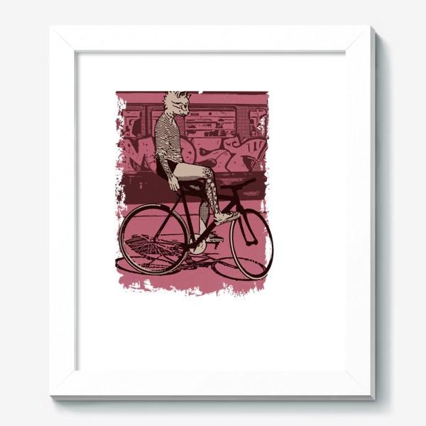 Картина «Underground Cat Rider»