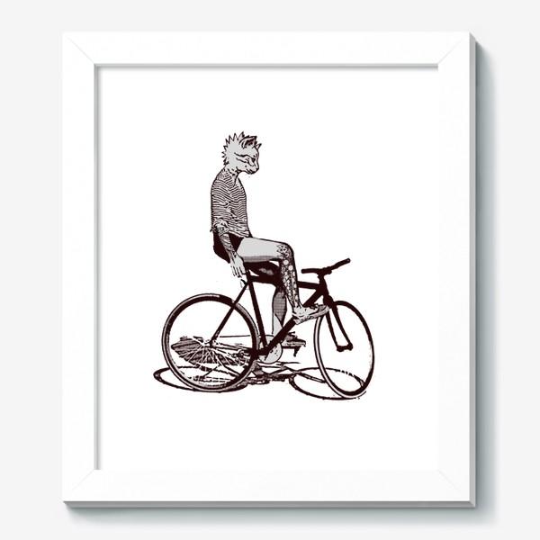 Картина «Underground Cat Biker»