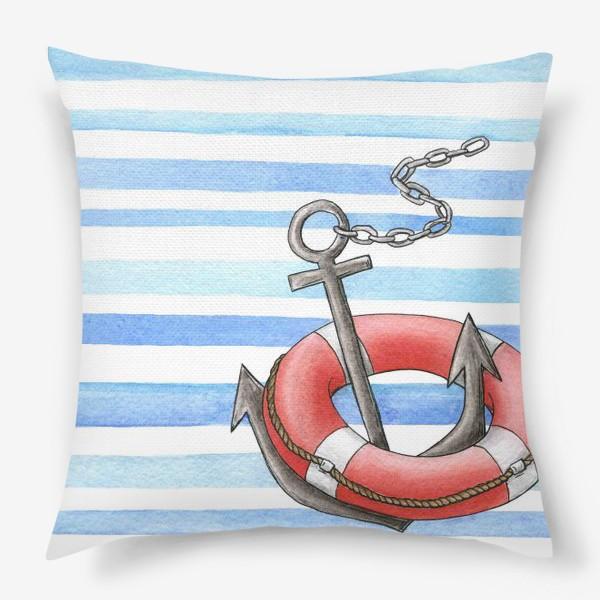 Подушка «Морская тема»
