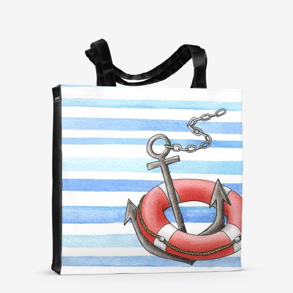 Сумка-шоппер «Морская тема»