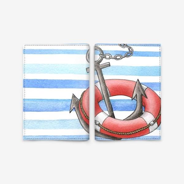 Обложка для паспорта «Морская тема»