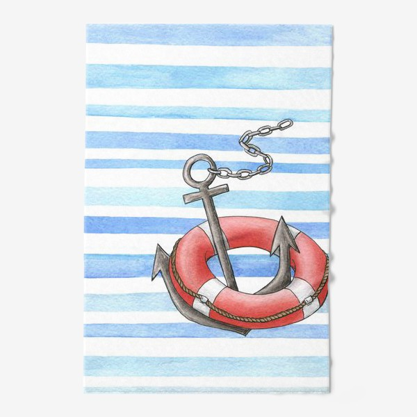 Полотенце «Морская тема»