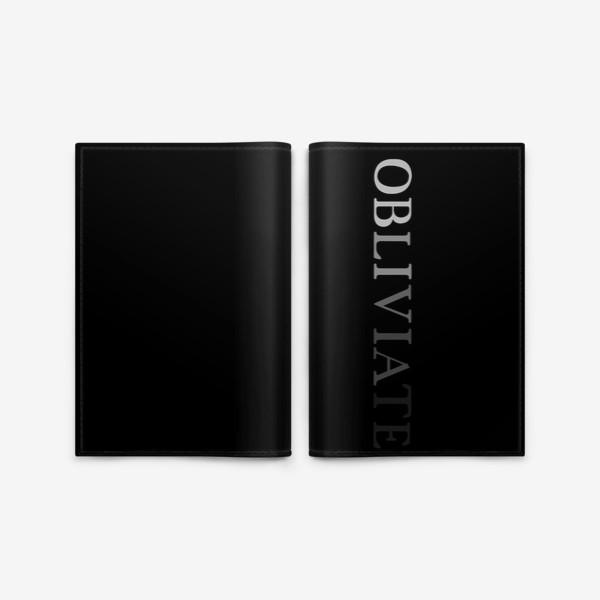 Обложка для паспорта «OBLIVIATE/ЗАБВЕНИЕ»