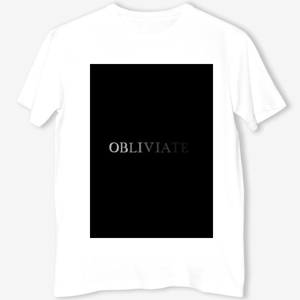 Футболка «OBLIVIATE/ЗАБВЕНИЕ»