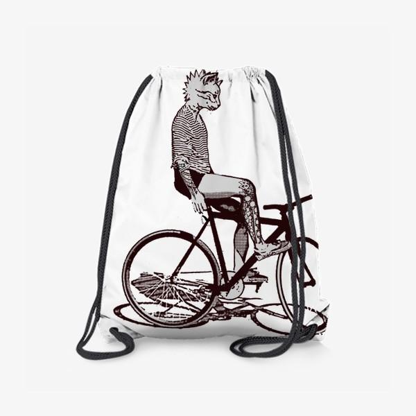 Рюкзак «Underground Cat Biker»