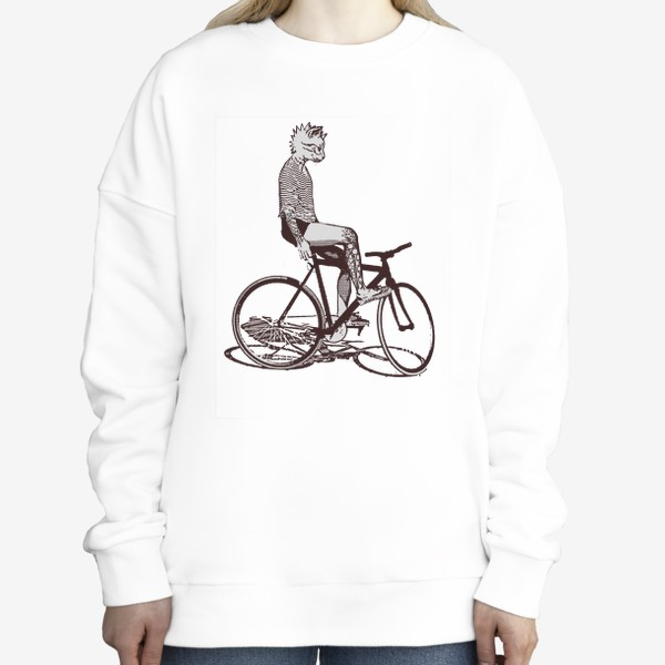 Свитшот «Underground Cat Biker»