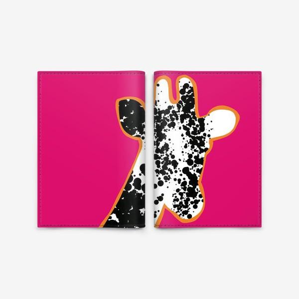 Обложка для паспорта «Pop art safari»