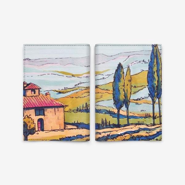 Обложка для паспорта «Toscana 2»