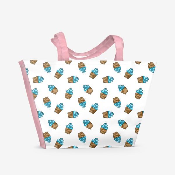 Пляжная сумка «Кексы»