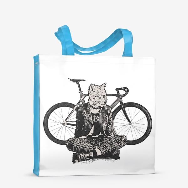 Сумка-шоппер «Fox Punk Biker»