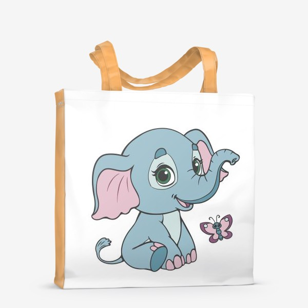 Сумка-шоппер «Милый слоненок»