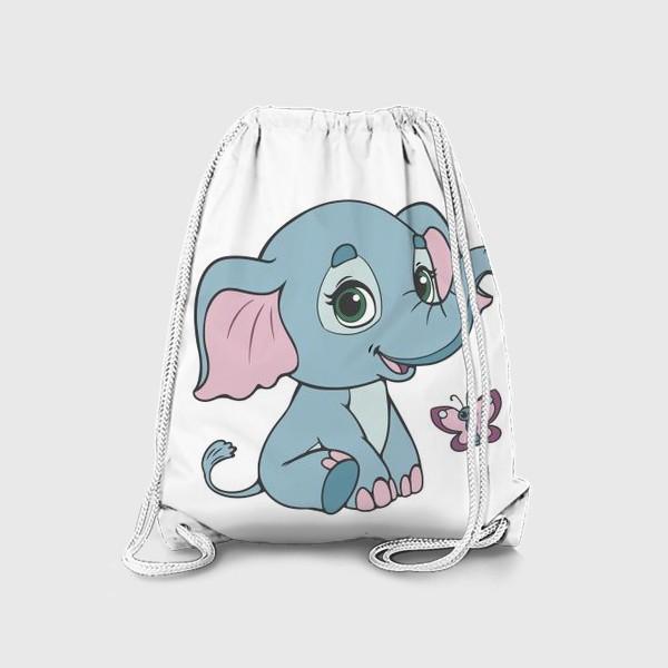 Рюкзак «Милый слоненок»