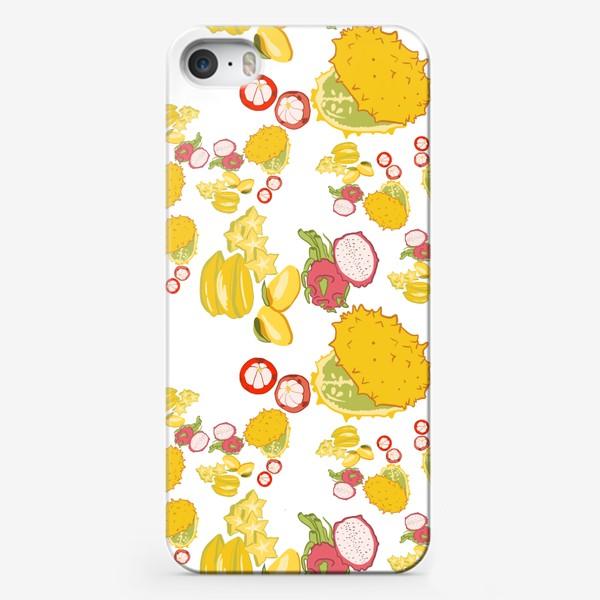 Чехол iPhone «Экзотические фрукты»