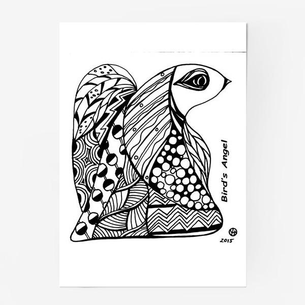 Постер «Птичий Ангел»