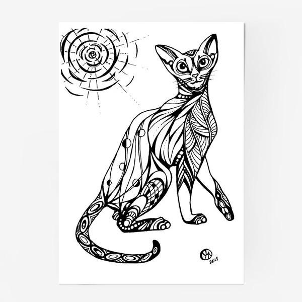 Постер «Кошка Абиссинка»