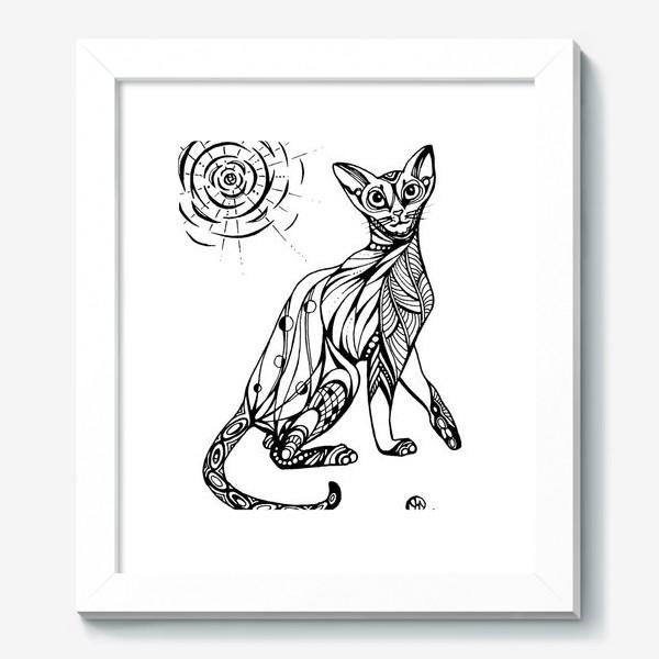 Картина «Кошка Абиссинка»