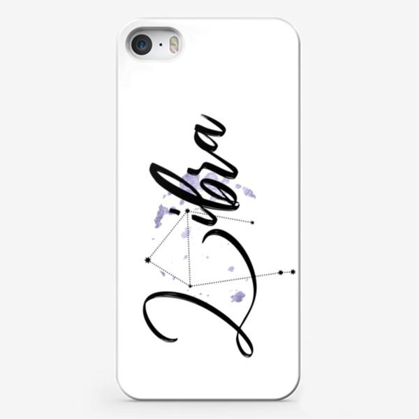 Чехол iPhone «Весы. Созвездие. Декор»