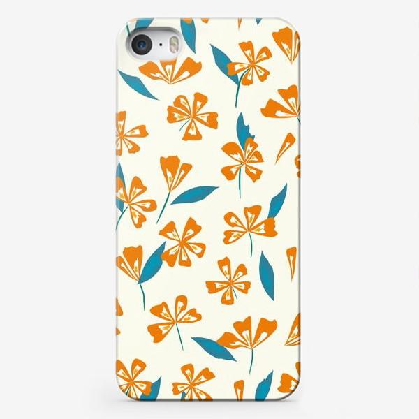 Чехол iPhone «цветочная поляна»