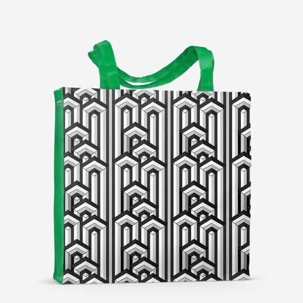 Сумка-шоппер «Не простая геометрия, паттерн»
