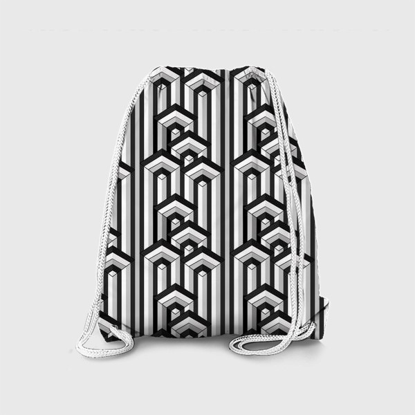 Рюкзак «Не простая геометрия, паттерн»