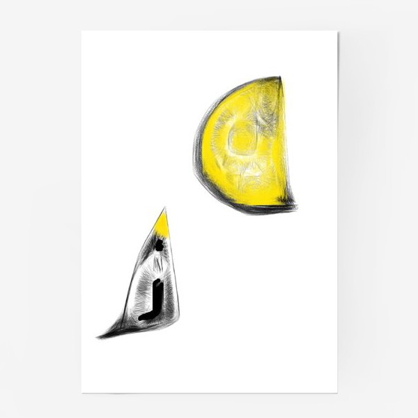 Постер «Кусочек сыра»