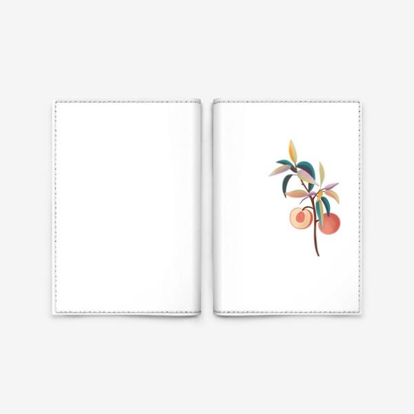Обложка для паспорта «Лето персики»