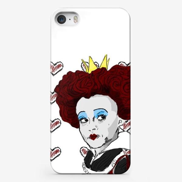 Чехол iPhone «красная королева»