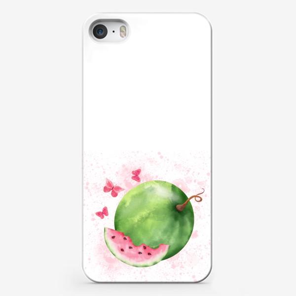 Чехол iPhone «Арбузное лето.»