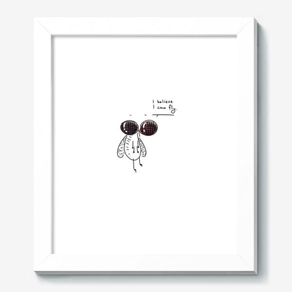 Картина «Муха верит в себя. Музыкальный юмор»