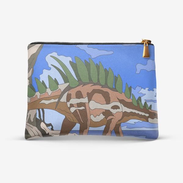 Косметичка «Гребнистый динозавр»
