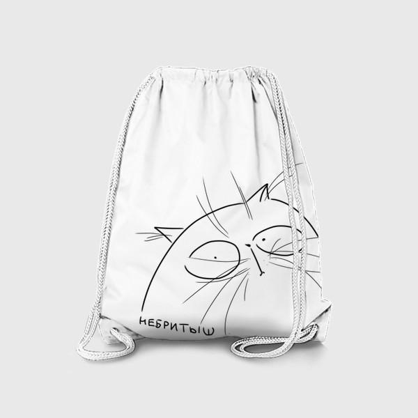 Рюкзак «Кот небритыш »
