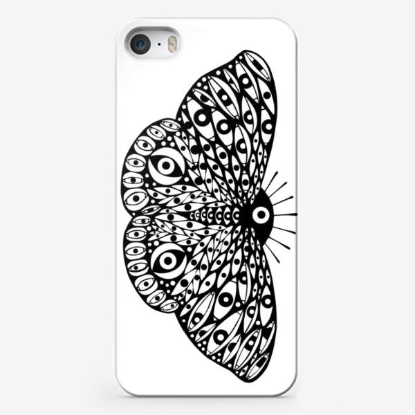 Чехол iPhone «Бабочка в стиле сюрреализм»