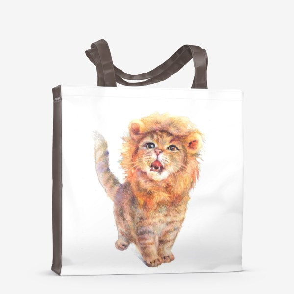 Сумка-шоппер «Подарки львам»