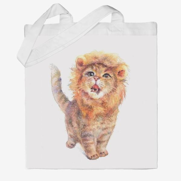 Сумка хб «Подарки львам»