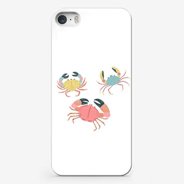 Чехол iPhone «Крабы»