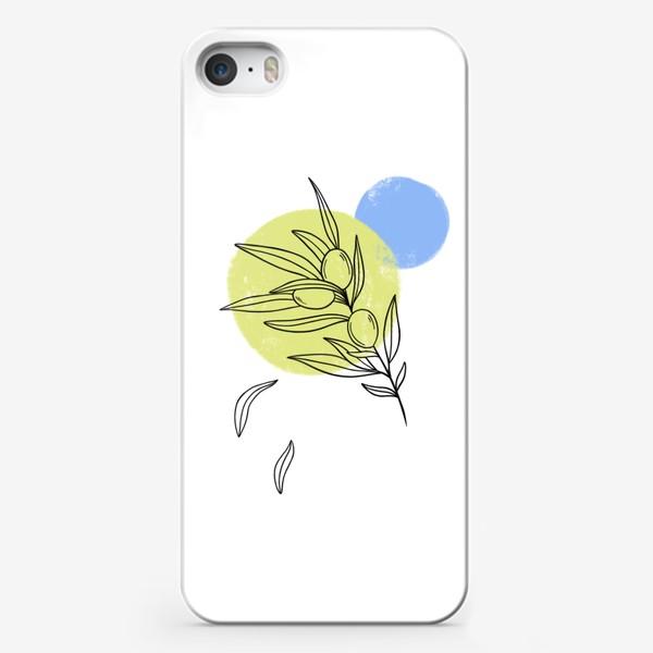 Чехол iPhone «Оливковая ветвь»