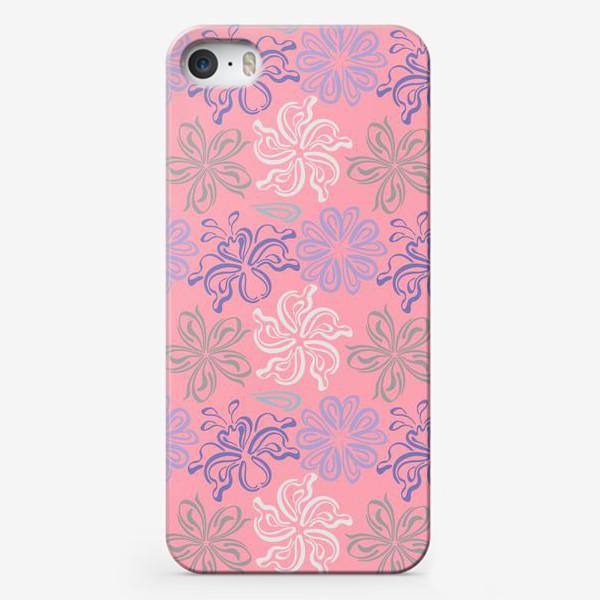 Чехол iPhone «Розовый ветер.»