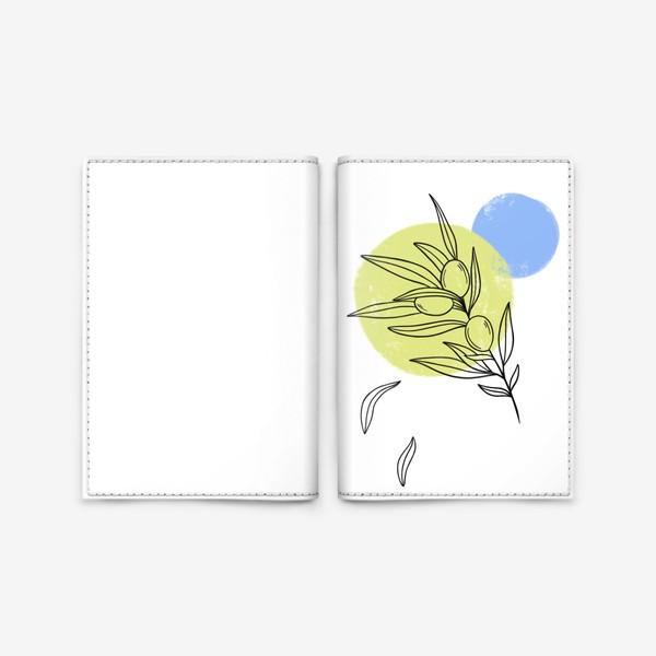Обложка для паспорта «Оливковая ветвь»