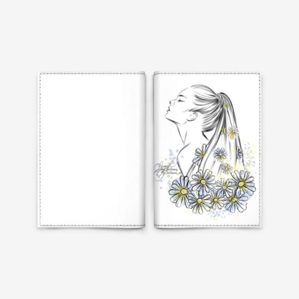Обложка для паспорта «Девушка «лето»»
