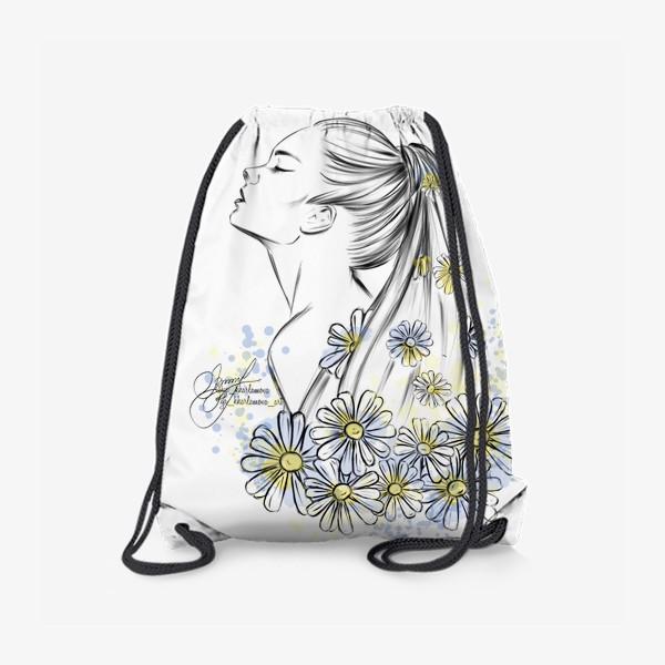 Рюкзак «Девушка «лето»»