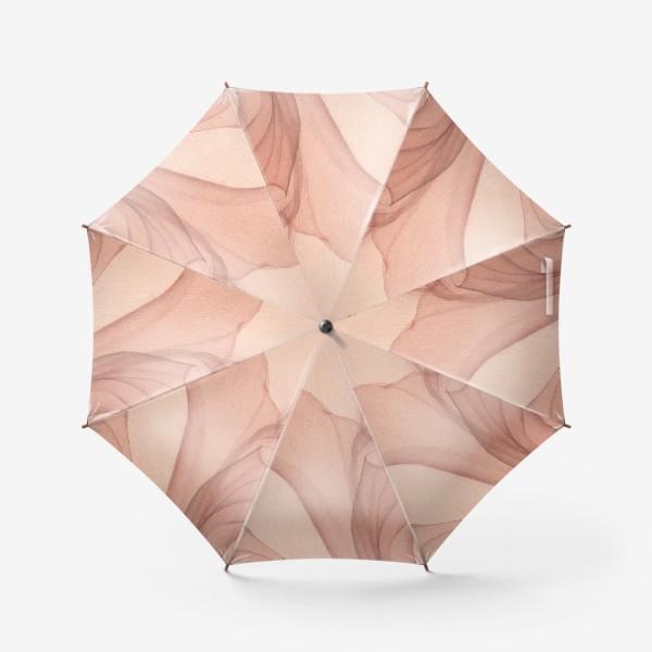 Зонт «Пудровая роза»