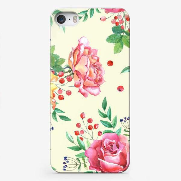 Чехол iPhone «Розовый сад»