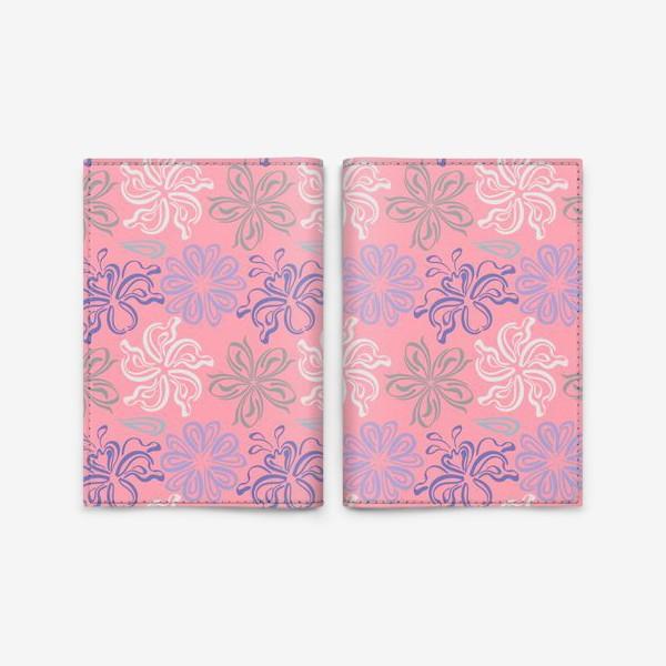 Обложка для паспорта «Розовый ветер.»