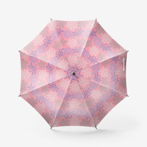 Зонт «Розовый ветер.»