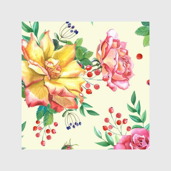 Шторы «Розовый сад»