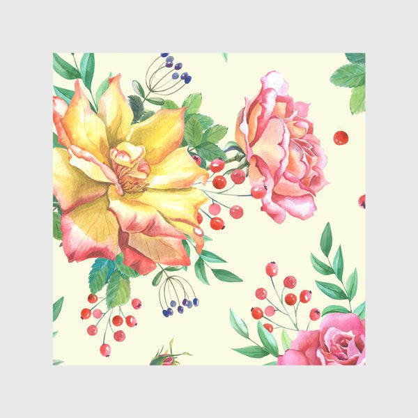 Скатерть «Розовый сад»